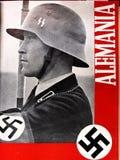 Okładkowe magazynu Nazistowskiego Niemcy hiszpańszczyzny spanish cywilna wojna zdjęcia stock