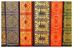 Okładkowe stare książki Zdjęcie Royalty Free