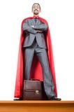 okładkowego mężczyzna czerwony biel Fotografia Stock