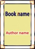 Okładkowy książkowy projekt fotografia stock