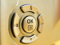 Ok. Button royalty free stock photography