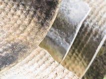 Okładkowi talerze zawiera azbest Zdjęcia Stock