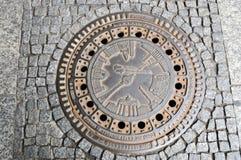 okładkowy Berlin manhohle obraz royalty free