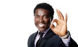 Ok business gesture Stock Image