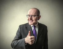 Ok bussinesman Royalty Free Stock Photography