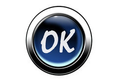 Ok button Royalty Free Stock Photo
