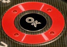 Free OK Button Stock Photography - 6390362