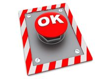 Ok button Royalty Free Stock Image
