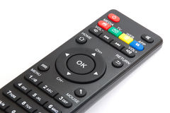 OK button on the smart plyer remote control Stock Image