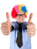Ok clown Royalty Free Stock Images