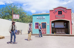 OK Corral gunfight Stock Photo