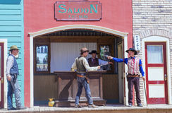 OK Corral gunfight stock photography