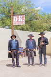 OK Corral gunfight Royalty Free Stock Photos