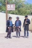 OK Corral gunfight Stock Photos