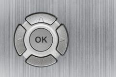 OK de bouton Photo libre de droits