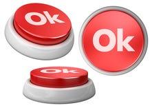 Ok de bouton Image libre de droits