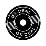 Ok Deal rubber stamp Royalty Free Stock Photography
