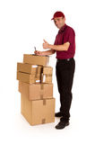 Ok delivery Royalty Free Stock Photography