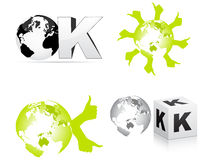 Ok design Royalty Free Stock Images
