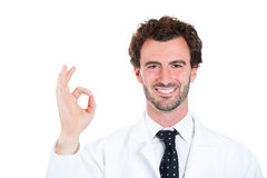 OK doctor Royalty Free Stock Photography