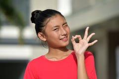 Ok Filipina Teen Girl jeune photos libres de droits