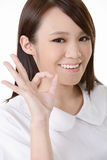 Ok gesture Royalty Free Stock Images