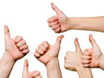 OK gestures Stock Image
