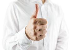 Ok hand gesture Royalty Free Stock Photography