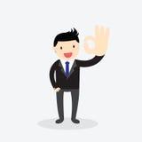 Ok hand sign Concept Stock Photo