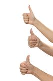 Ok Hand sign Royalty Free Stock Photo
