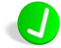 OK icon Stock Photo