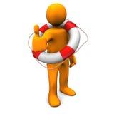 OK Lifeguard Royalty Free Stock Photos