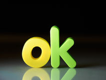 OK or Okay concept Stock Image