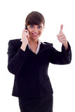 OK on the phone Royalty Free Stock Photography