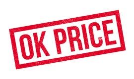 Ok Price rubber stamp Royalty Free Stock Photo