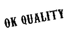 Ok Quality rubber stamp Royalty Free Stock Image