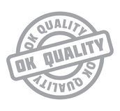 Ok Quality rubber stamp Stock Photography