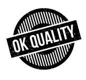 Ok Quality rubber stamp Royalty Free Stock Photography
