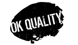 Ok Quality rubber stamp Royalty Free Stock Photo