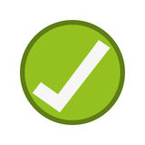 Ok right correct icon Stock Photo