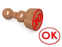OK seal Stock Photography