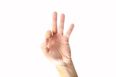 OK sign Stock Images