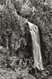 OK Slip Falls Black and White Stock Photography