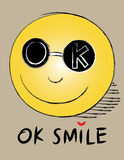 OK smile Stock Photography