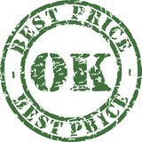 Ok stamp stock illustration