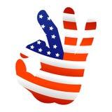 Ok usa hand gesture icon flat web sign symbol logo label Royalty Free Stock Photo