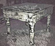 OKA łapania stół Obrazy Royalty Free