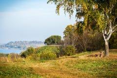 Oka-Fluss Lizenzfreies Stockbild