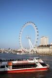 oka London milenium koło Zdjęcia Royalty Free
