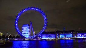 oka London noc widok zdjęcie wideo